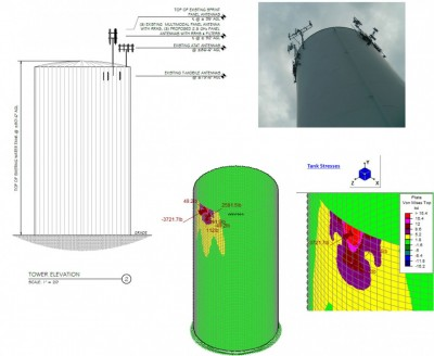 Water Tower and Calculations